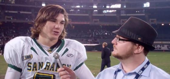 Zach Kline, pictured here in 2011 on the O.co turf, expects to be named QB1 by Aug. 31st.