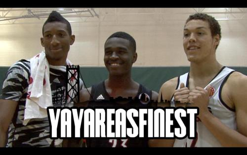 Aaron Gordon (on Bird's left) is already turning heads at Arizona, while Antioch's Marcus Lee is a freshman at Kentucky