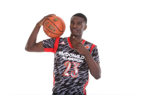 Bird wore #23 during the McDonald's All-American Game in Chicago last year.