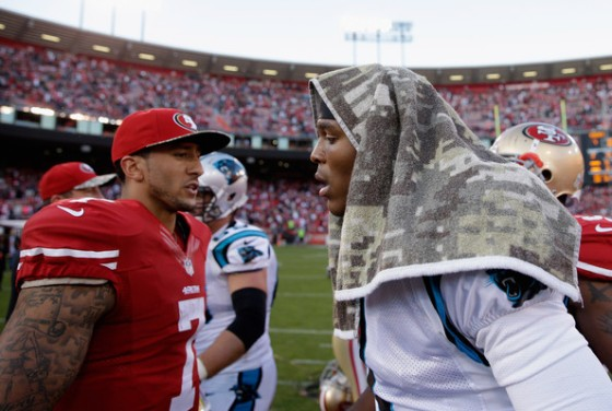 Cam and CK7 will settle who is the hotter young NFL QB this Sunday at 10am...