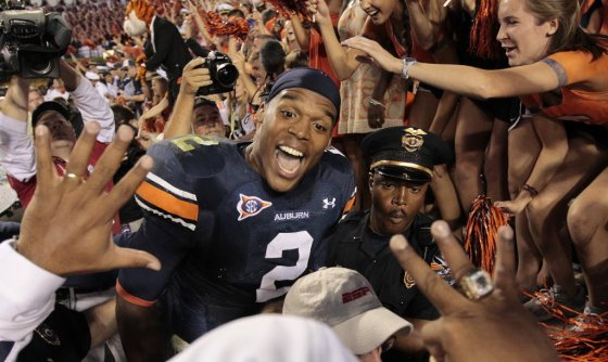 Cam enjoyed a larger-than-life existence at Auburn