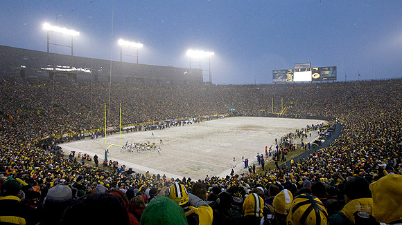 """The Frozen Tundra of Lambeau Field"""