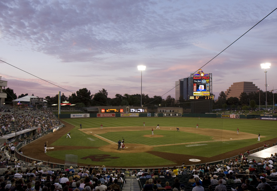 Sacramento's Raley Field in all its glory (photo by Lisa Ouellette)
