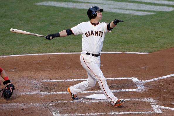 Panik's swing looks effortless from the left side (photo by Jason O. Watson)