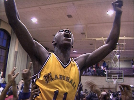 Arthur Agee after beating Westinghouse in 1991