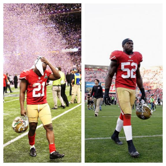 Two Niner greats, gone in the blink of an eye...
